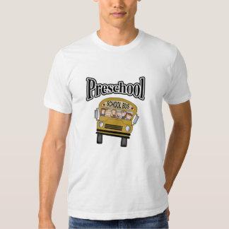 School Bus with Kids Preschool T Shirts