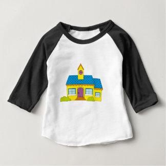 School Cartoon Baby T-Shirt