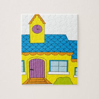 School Cartoon Jigsaw Puzzle