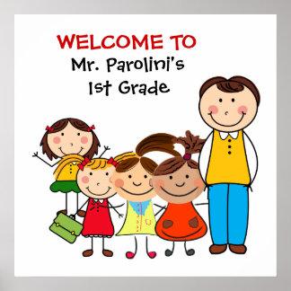 School Classroom Welcome Poster