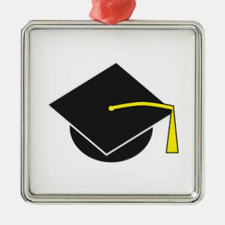 School/College/University Graduation Cap Metal Ornament