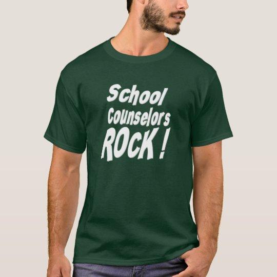 School Counsellors Rock! T-shirt