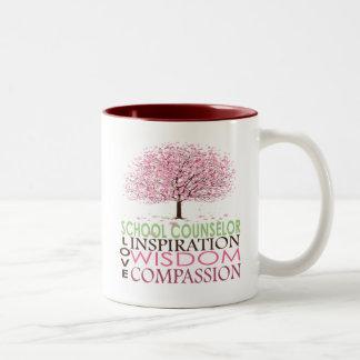School Counselor Gifts Two-Tone Coffee Mug