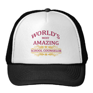 School Counselor Mesh Hat