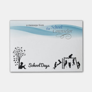 School Counselor School Days Sticky Notes