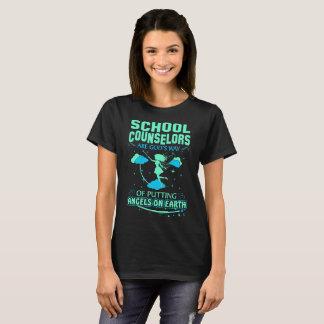 School Counselors Gods Angels On Earth Tshirt