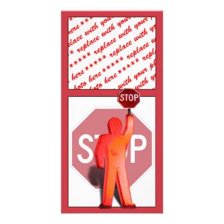 School Crossing Guard Photo Card Template
