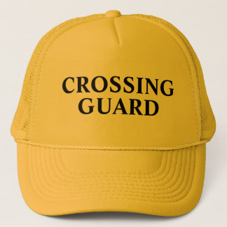 School Crossing Guard Trucker Hat