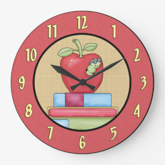 School Days Wall Clock