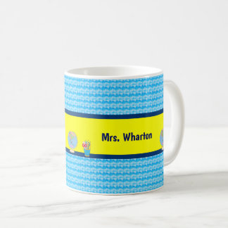 School Days with Teacher Student Name Coffee Mug