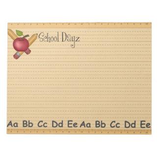 School Dayz Notepad Large