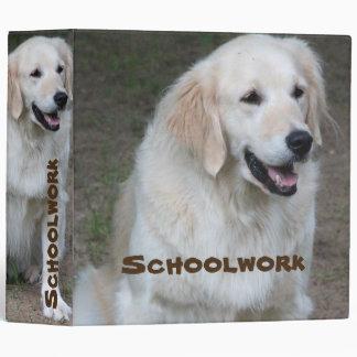 School Dog Binder