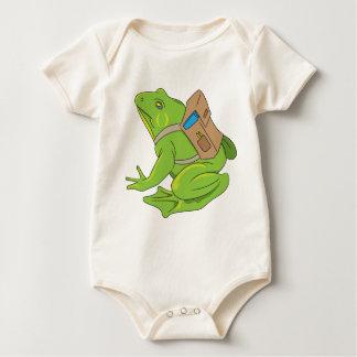 School Frog Baby Bodysuit