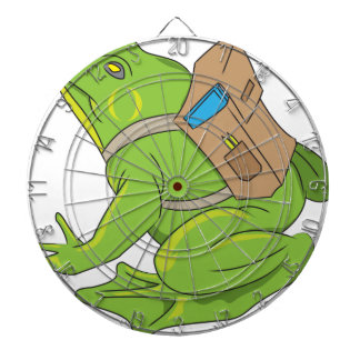 School Frog Dartboard