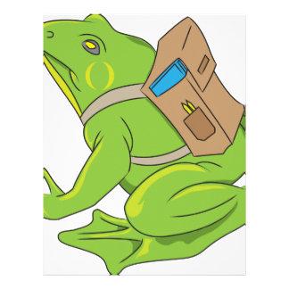 School Frog Letterhead