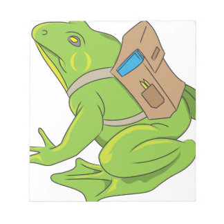 School Frog Notepad