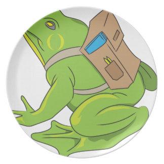 School Frog Plate