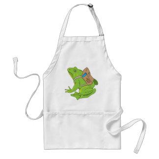 School Frog Standard Apron