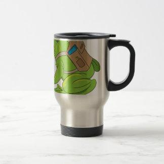 School Frog Travel Mug