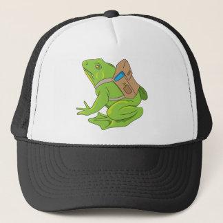 School Frog Trucker Hat