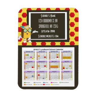 School Fundraising Calendar Fun Dots Magnet