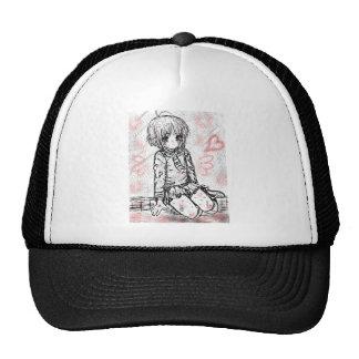 school girl trucker hats
