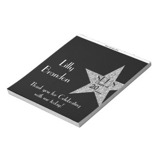 School Graduation Candy Bar Wrapper Party Favor Notepad