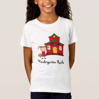 School House with Girl Shirt