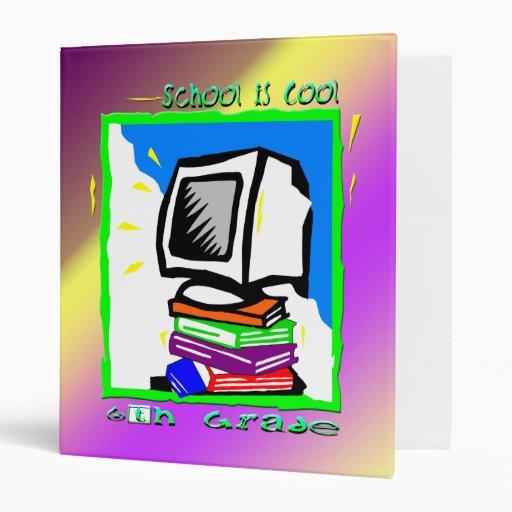 School is Cool 6th Grade - PC  Binder