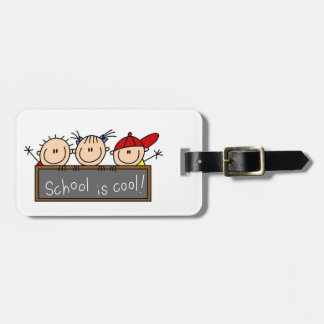 School is Cool Bag Tag