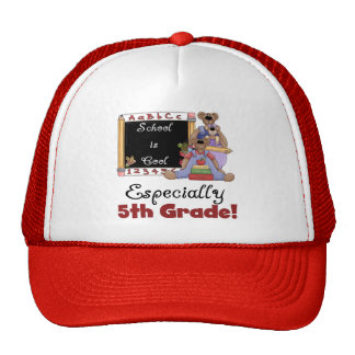 School is Cool Especially 5th Grade Trucker Hat