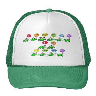 School is Cool - Frogs Trucker Hat