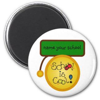 school is cool name your school magnet