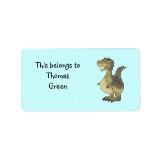 School Labels (dinosaur)