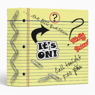 School Note Pad Binder