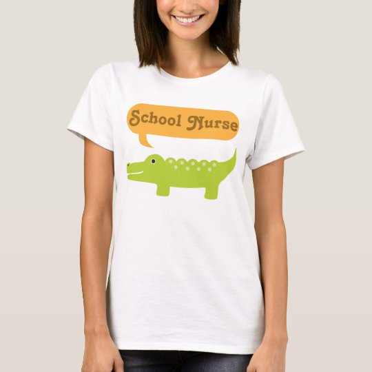 School Nurse Crocodile T-Shirt