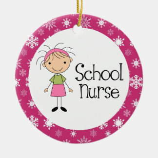 School Nurse Ornament
