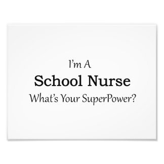 School Nurse Photo Art