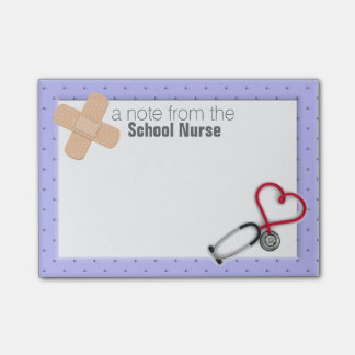 School Nurse Post-it® Note