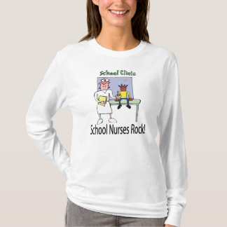 School Nurses Rock T-shirt