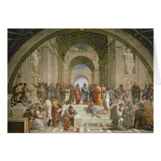School of Athens, from the Stanza della Card