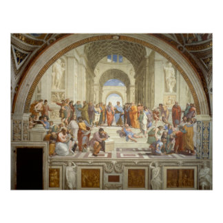 School of Athens Poster