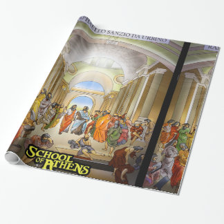School of Athens Wrapping Paper