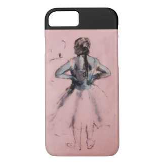 SCHOOL OF DANCE ,BALLERINA  BALLET DANCER IN PINK iPhone 8/7 CASE