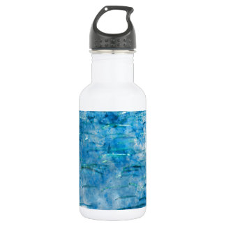 School of Fish Watercolor 532 Ml Water Bottle