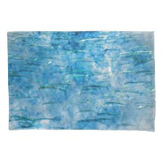 School of Fish Watercolor Pillowcase