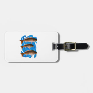 SCHOOL OF REDS LUGGAGE TAG
