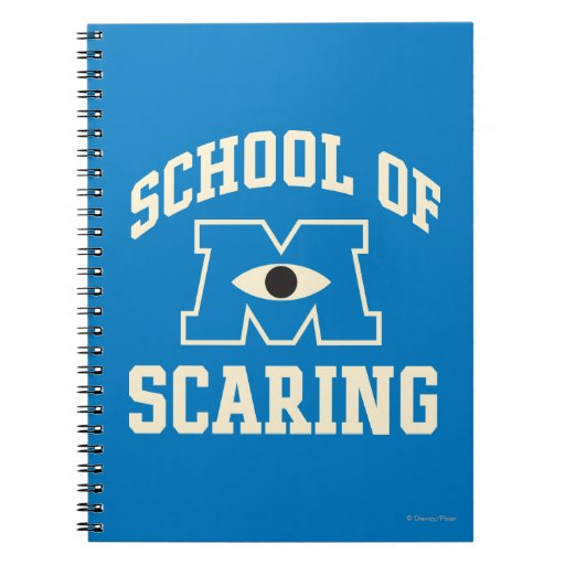 School of Scaring Spiral Notebook