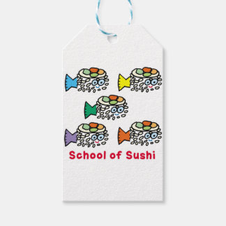 School of Sushi Gift Tags