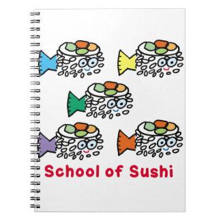 School of Sushi Notebook
